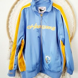 San Diego Chargers Throwback lined Jacket & Hat